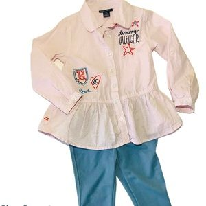 Tommy Hilfiger Toddler Girls Outfit Size 3T